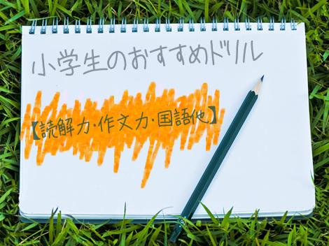こちらでは、読解力・作文・国語ほか小学生におすすめのドリルをクチコミと共に厳選紹介。漢字無料プリントと併せて有効活用して下さい。